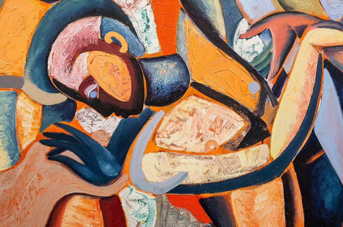 Hennie Niemann jnr, detail, _Tapestries of Desire_