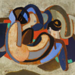 Niemann Jnr, Hennie - _Figure composition_ (2015) 81 x 82 cm