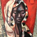 _The Initiate_ 60x45cm, oil on canvas by Hennie Niemann jnr, 2018 2