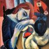 _The wish_ 61x60 cm, Oil on canvas by Hennie Niemann jnr, 2016